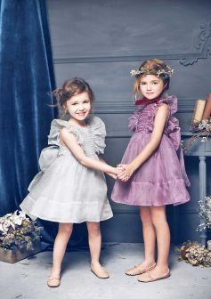Cute bridesmaid dresses for little girls ideas 4